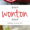 Wonton Soup - A supe