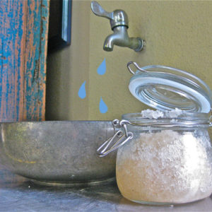 Anti-Bacterial Hand Scrub | littlegreendot.com