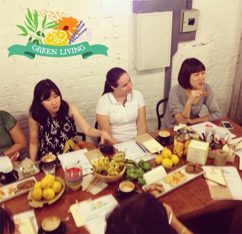 Green Living workshop photos