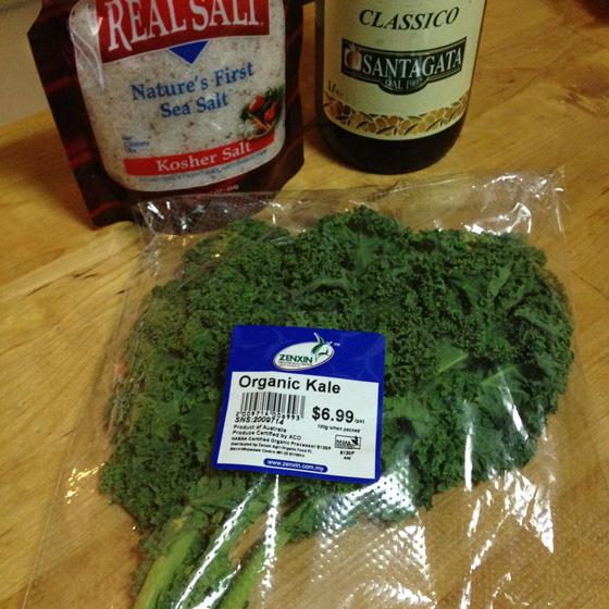 Organic kale in Singapore, from Zenxin Farm