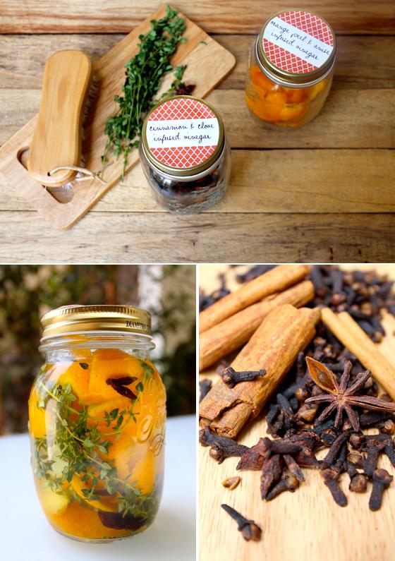 DIY Infused Vinegars