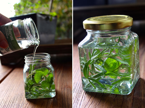 Stimulating Rosemary & Mint Hair Oil Recipe