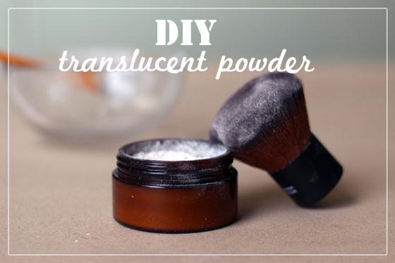 DIY Translucent Face Powder Recipe