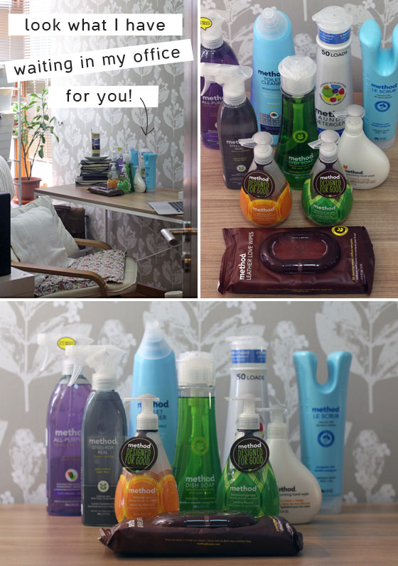 Method cleaning products giveaway