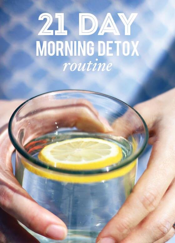 21-Day-Morning-Detox-Routine