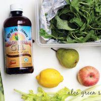 Aloe Green Shake Recipe | littlegreendot.com