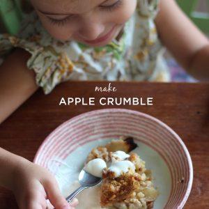 Apple Crumble Recipe | littlegreendot.com