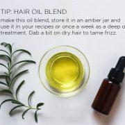 Hair Oil Blend Recipe | littlegreendot.com