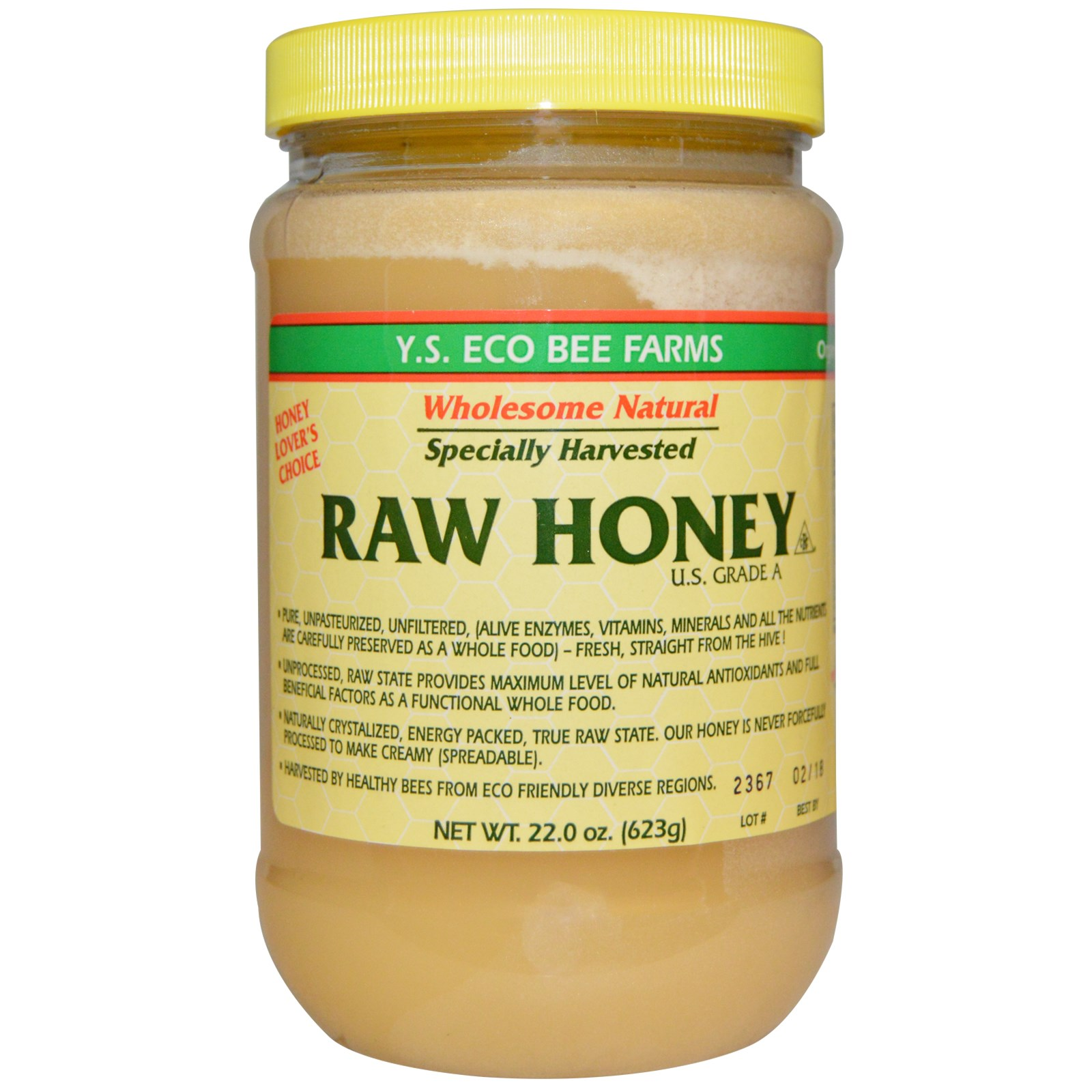 Raw Unpasteurized Honey Whole Foods
