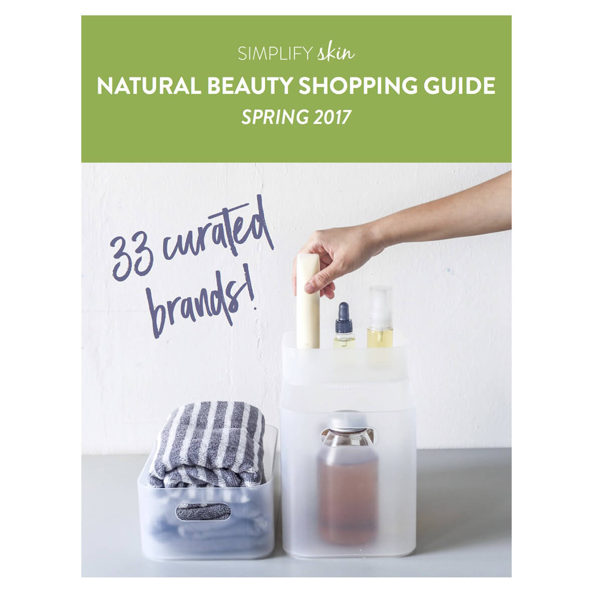 Spring 2017 Natural Beauty Shopping Guide | littlegreendot.com